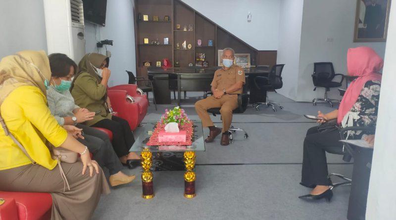 Setwan DPRD Kotamobagu Terima Kunjungan Wakil Rakyat Boltim