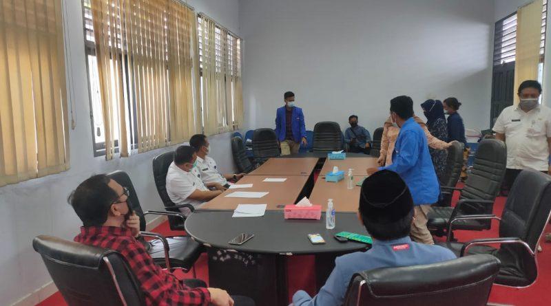 Dekot Fasilitasi Pertemuan Mahasiswa dan RSUD Kotamobagu