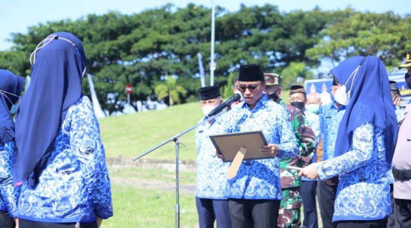 Bupati Boltim Pimpin Upacara Peringati Hari Kartini